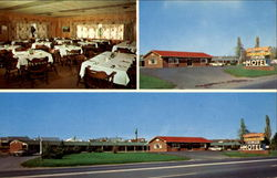 Golden Arrow Motel & Restaurant, U. S. Route 11 & 15