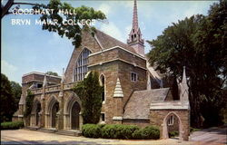 Goodhart Hall, Bryn Mawr College Postcard