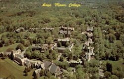 Aerial View Of Bryn Mawr College Postcard