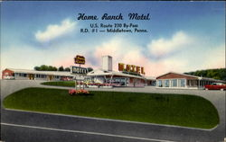 Home Ranch Motel, U. S. Route 230 By-Pass