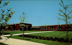 Women's Quadrangle, Susquehanna University Postcard