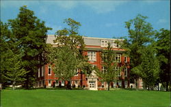 Steele Hall, Susquehanna University Postcard