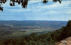 The Susquehanna Valley From Skyline Drive
