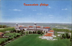 Aerial View Of Immaculate College