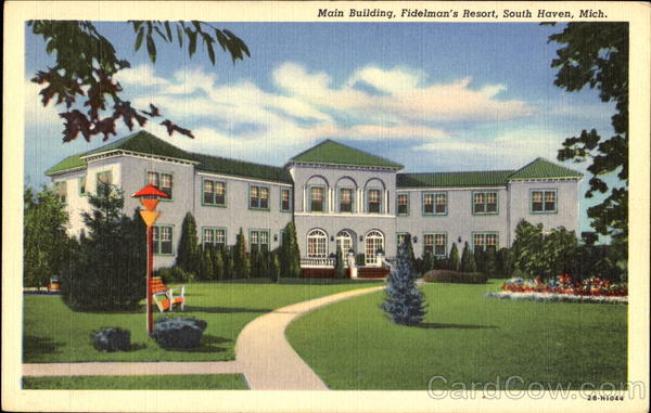 Main Building Fidelman's Resort South Haven Michigan