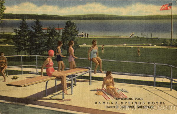Ramona's Swimming Pool Harbor Springs Michigan
