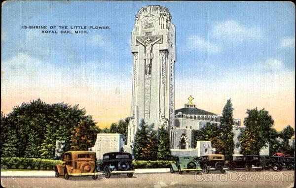 Shrine Of The Little Flower Royal Oak Michigan