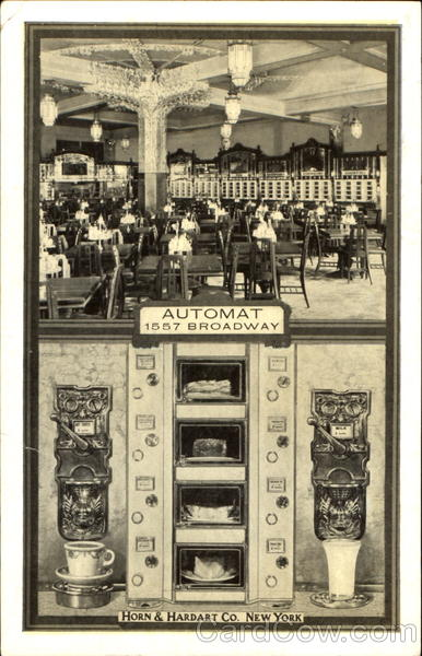 Automat Horn & Hardart Co. New York City