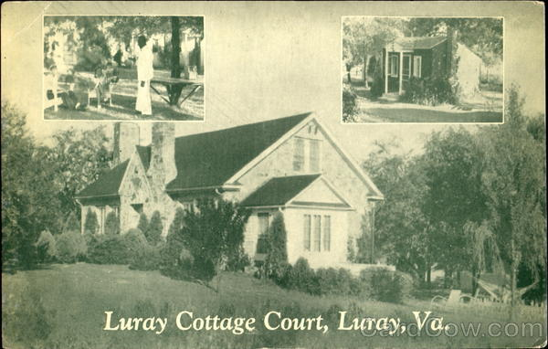 Luray Cottage Court Virginia
