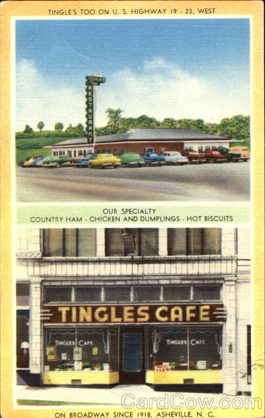 Tingle's Too On U. S. Highway 19 - 23 Asheville North Carolina