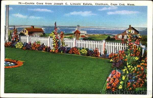 Cockle Cove From Joseph C. Lincoln Estate, Chatham Cape Cod Massachusetts