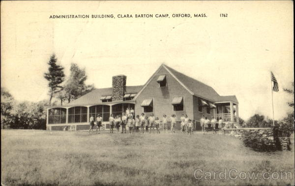 Administration Building, Clara Barton Camp Oxford Massachusetts