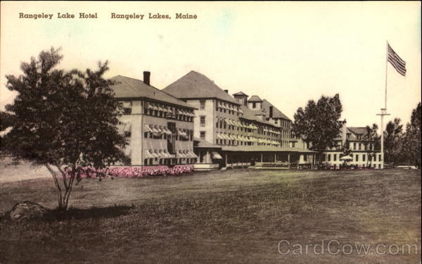 Rangeley Lake Hotel Rangeley Lakes Maine