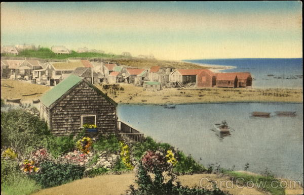 The Fishing Village At Perkins Cove Ogunquit Maine