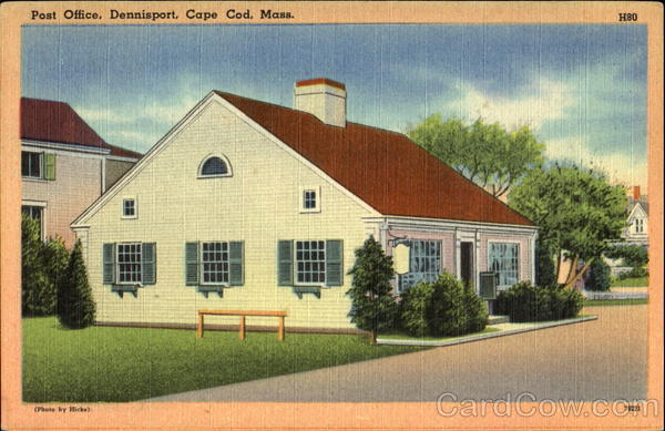 Post Office, Dennisport Cape Cod Massachusetts