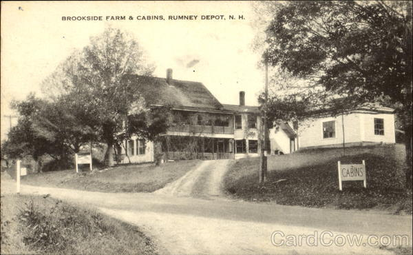 Brookside Farm & Cabins Rumney Depot New Hampshire