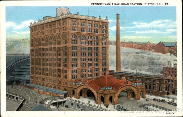 Pennsylvania Railroad Station Pittsburgh
