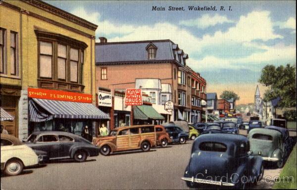 Restaurants On Main Street In Wakefield Ri