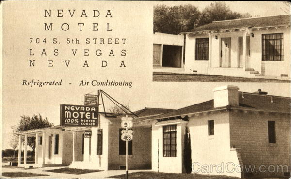 Nevada Motel, 704 S. 5th Street Las Vegas