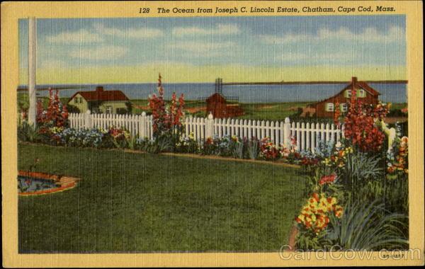The Ocean From Joseph C. Lincoln Estate, Chatham Cape Cod Massachusetts