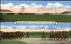 Parade Grounds At Camp Barkeley
