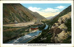 Weber Canyon Postcard