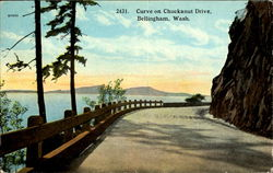 Curve On Chuckanut Drive