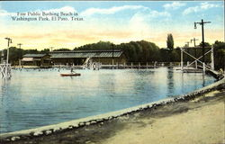 Free Public Bathing Beach, Washington Park