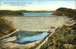 Dam At Elephant Butte, Rio Grande