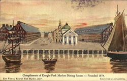 Compliments Of Durgin-Park Market Dining Room, 30 North Market St