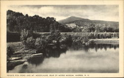 Private Fish Pond And Mt. Moosilauke, Morse Museum