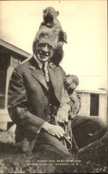 Ira H. Morse And Baby Baboons, Morse Museum