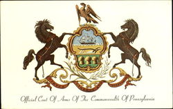 Official Coat Of Arms Of The Commonwealth Of Pennsylvania