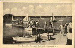Race Day At The Weekapaug Yacht Club