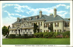 Residence Of F. Lathrop Ames