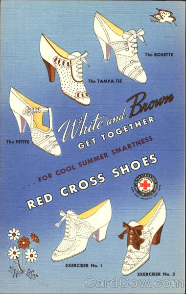 Red Cross Shoes Advertising