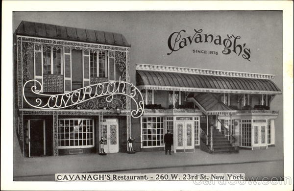 Cavanagh's Restaurant, 260 W. 23rd St New York