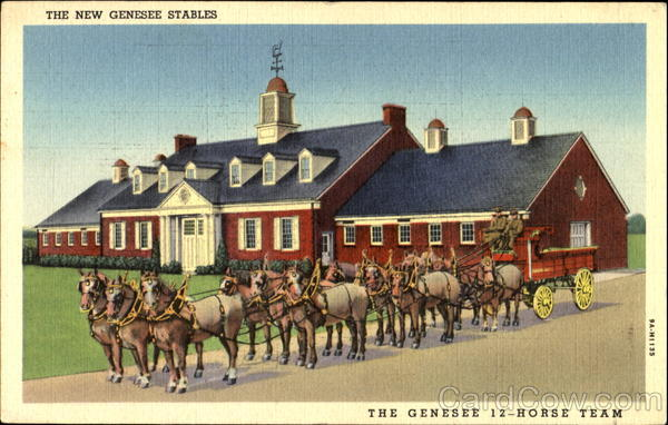 The New Genesee Stables Rochester New York