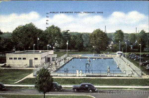 public swimming pool fremont oh
