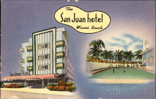 San Juan Hotel Collins Avenue Miami Beach