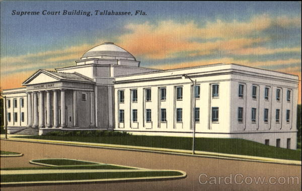 Supreme Court Building Tallahassee Florida