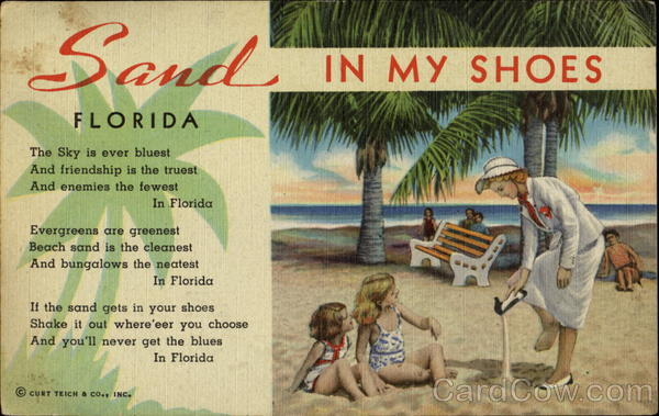 Sand In My Shoes Florida