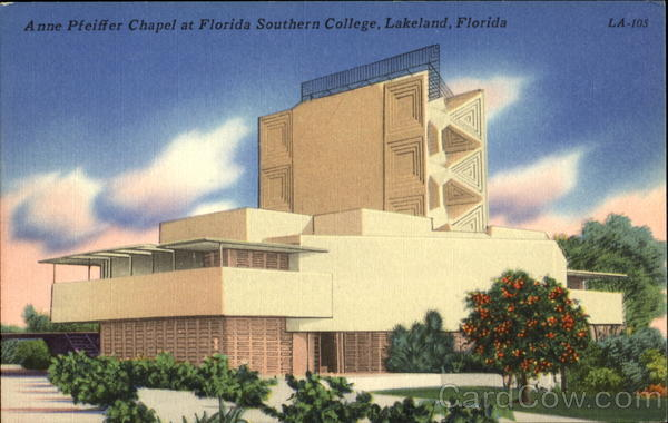 Anne Pfeiffer Chapel, Florida Southern College Lakeland