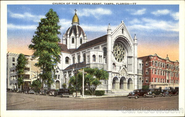 Church Of The Sacred Heart Tampa Florida