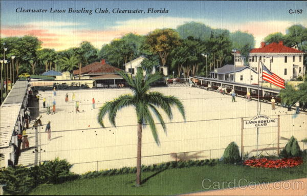 Clearwater Lawn Bowling Club Florida