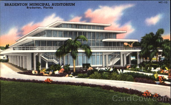 Bradenton Municipal Auditorium Florida