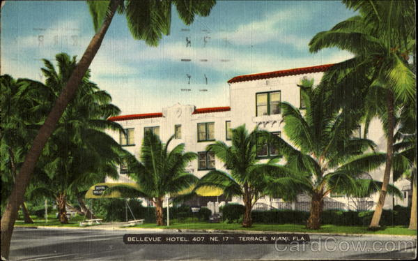 Bellevue Hotel, 407 NE 17th Terrace Miami Florida