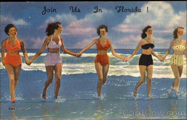Join Us In Florida! Scenic Swimsuits & Pinup