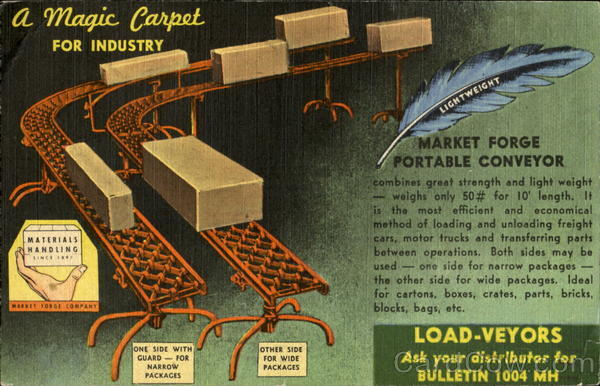 A Magic Carpet For Industry Advertising