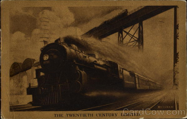 The Twentieth Century Limited Trains, Railroad